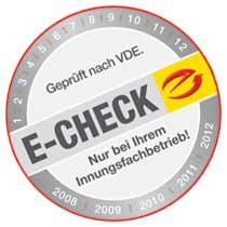 Elektriker E-check Messung Elektro Horning